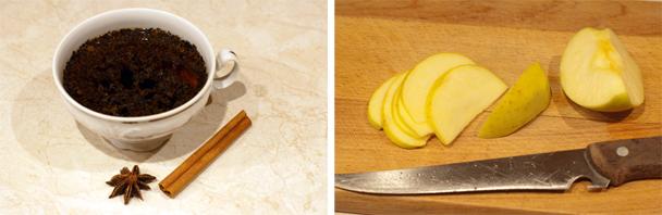 Фруктово-пряный согревающий чай для пасмурных дней