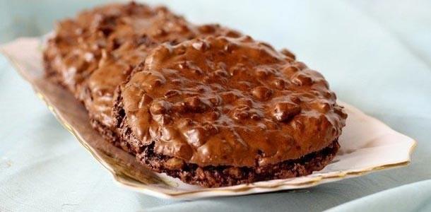 шоколадно-ореховое-печенье