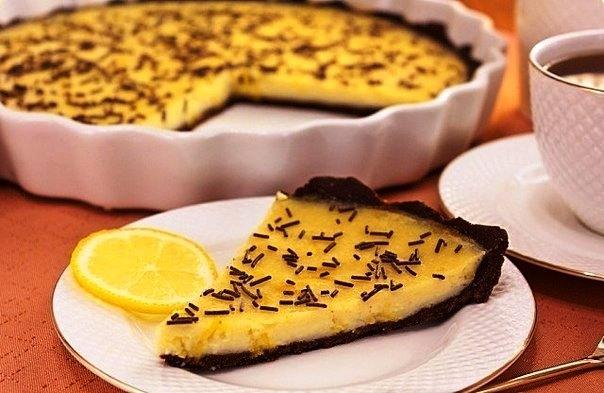 шоколадный-торт-с-лимонным-кремом