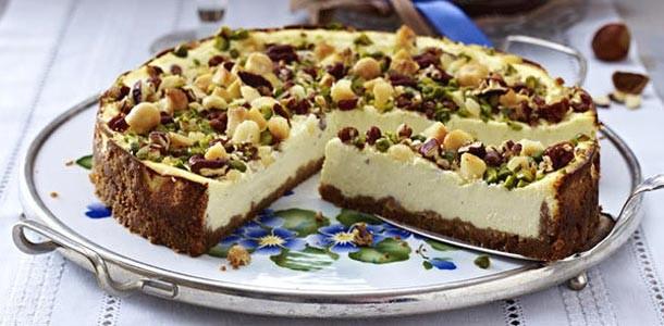 орехово-сырный-торт