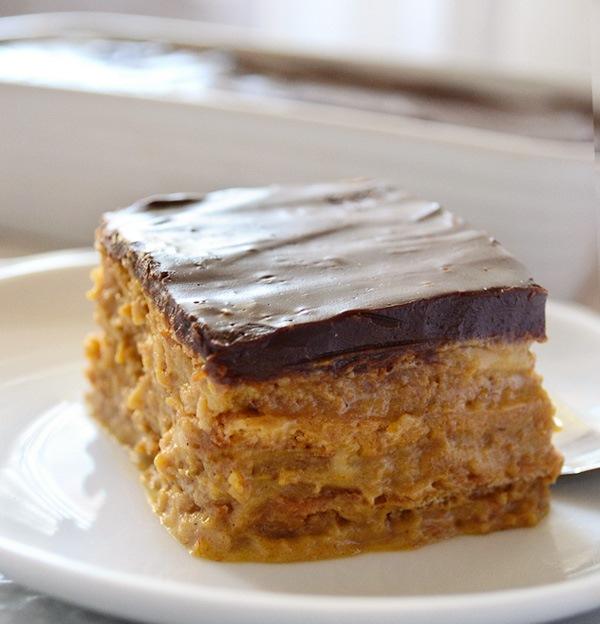 тыквенный- торт- с -шоколадной -глазурью