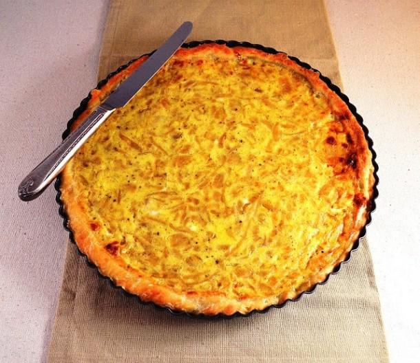 французский-луковый-пирог