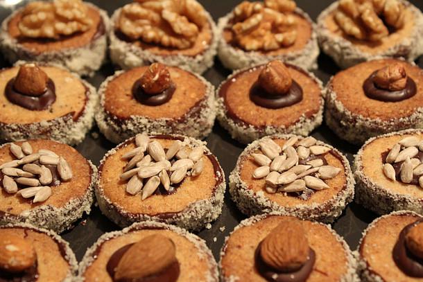 ореховое-печенье
