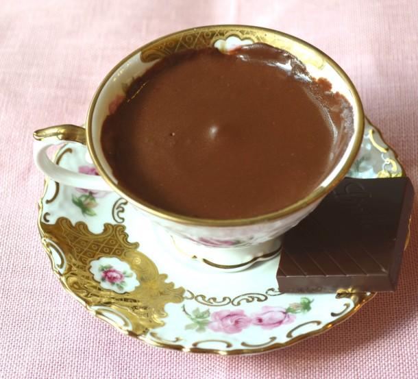 венецианский горячий шоколад