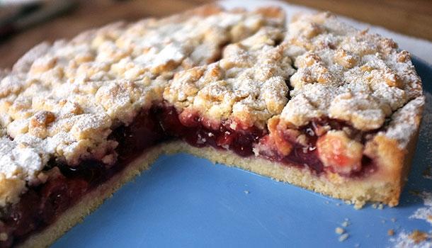 вишневый-пирог