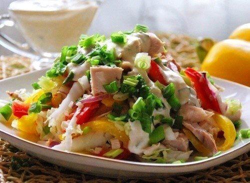 салат-с-куриным-филе