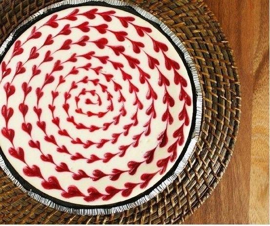 оформление-торта-в-виде-сердец