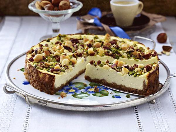 орехово-сырный торт
