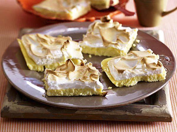 сырно-лаймовый торт с безе