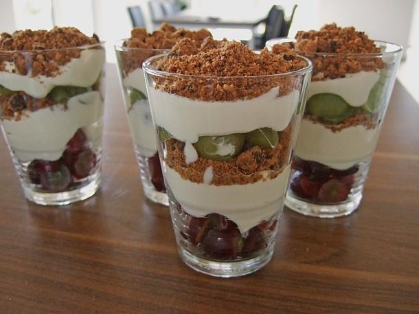 виноградный десерт